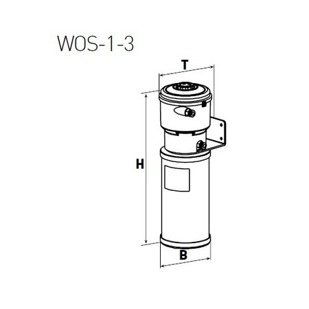 COMPRAG Olie-/waterafscheider voor condensaat WOS-3