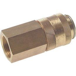 Snelkoppeling NW19 | Messing |BI-draad | 8000 l/min