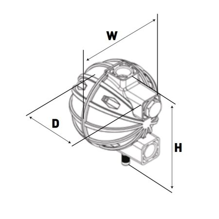 COMPRAG Condesaatafvoerventiel FD tot max. 2,8 m³/min.