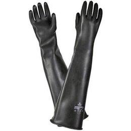 BSS-NEDERLAND Straalhandschoenen rubber | 610 mm.