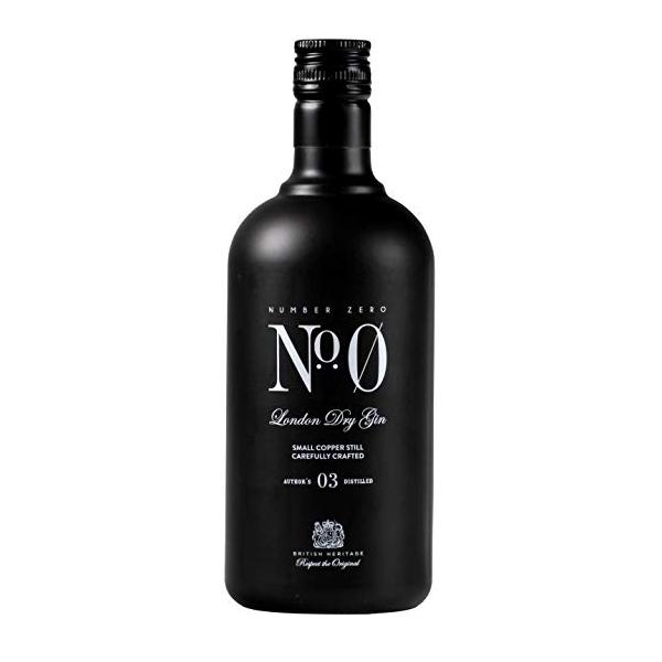 N°0 gin N°0, London Dry Gin, 40.8%, 70cl