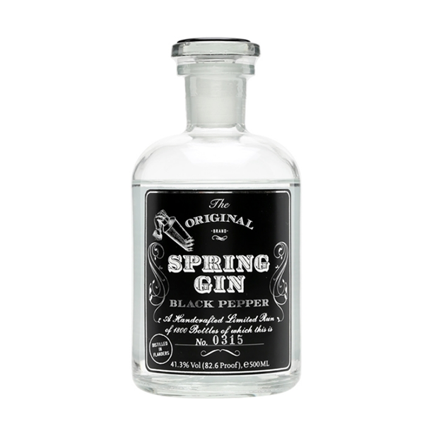 Manuel Wouters Manuel Wouters, Spring gin, Black Pepper, 41 %, 50cl