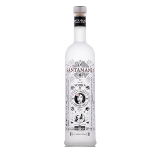 Santamania Santamania, Vodka de cerveza La Virgin, 40%, 70cl