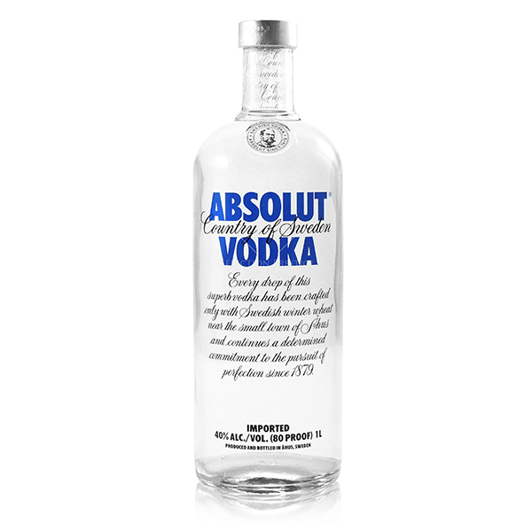 ABSOLUT Absolut Vodka, 40%, 1l