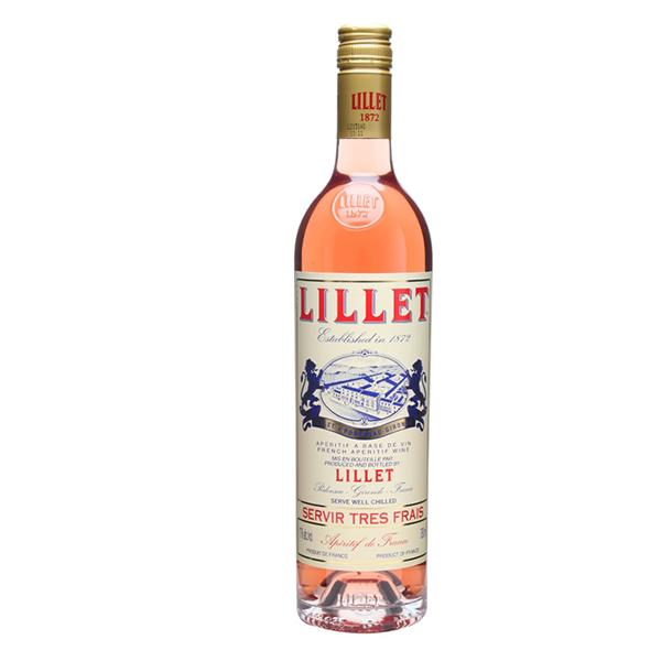 Lillet Lillet, Aperitief rosé, 17%, 75cl