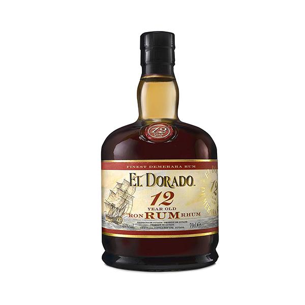 Demerara Distillers El Dorado 12y rum, 40%, 70cl