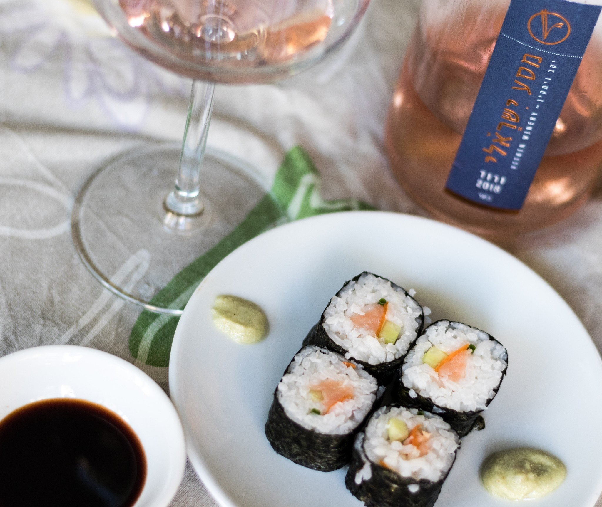 Wat drink je bij sushi?