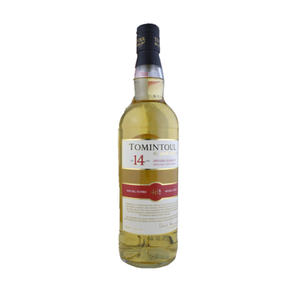 Tomintoul distillery Whisky Tomintoul, 14y old, 46%, 70cl