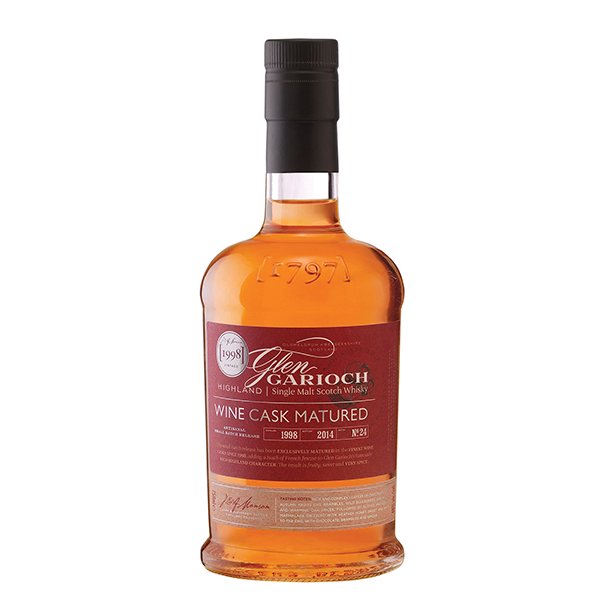Glen Garioch Whisky Glen Garioch, Wine Cask Matured '98, 48%, 70cl