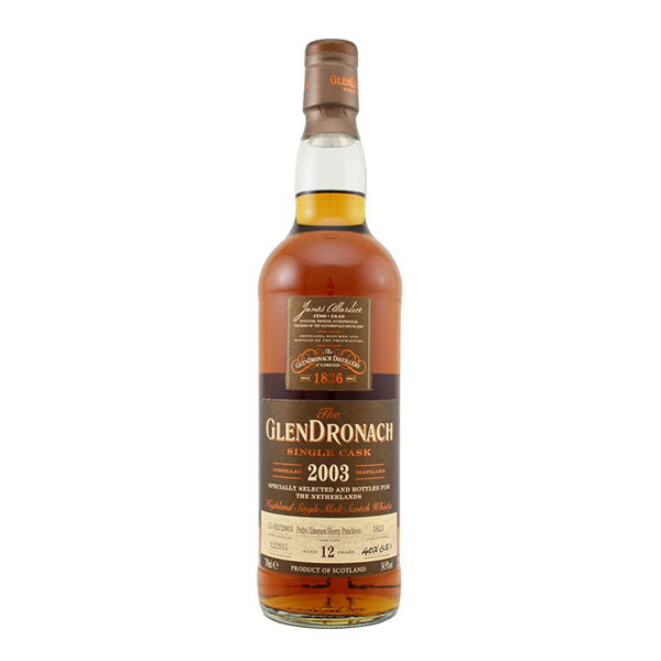 Glendronach Distillery Glendronach '03, 12y, 55.60%, 70cl