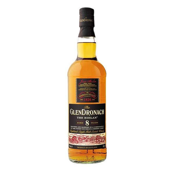 Glendronach Distillery Whisky Glendronach 8y, The Hielan, 46%, 70cl