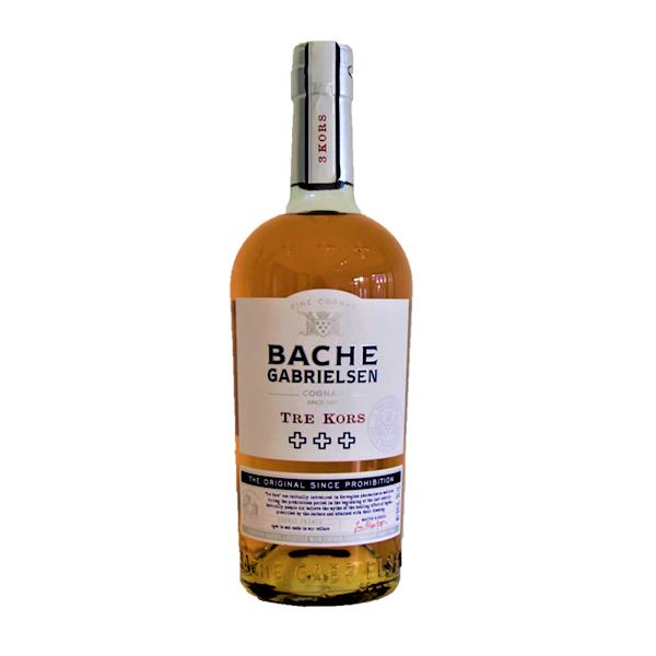 Bache-Gabrielsen Cognac Bache-Gabrielsen, Tre Kors, 40%, 70cl