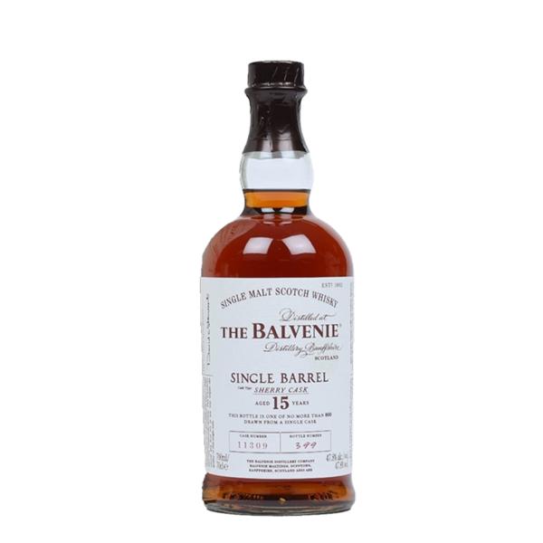 The Balvenie Distillery Whisky Balvenie, Sherry Cask, 15y, 47.8%, 70cl