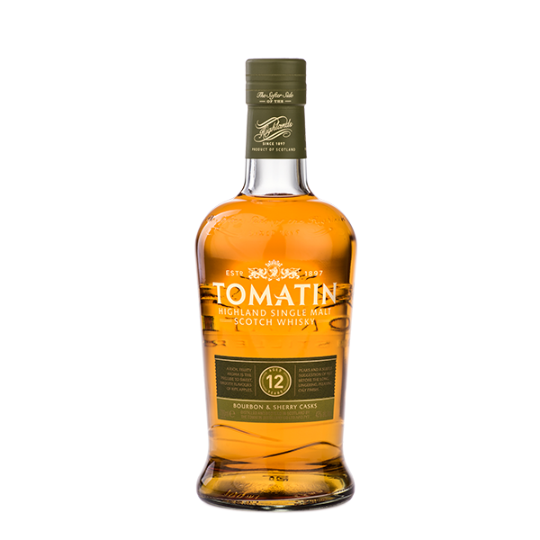 Tomatin Tomatin, Bourbon &  Sherry cask, 12y, 43%, 70cl