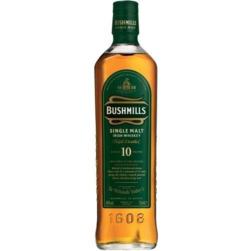 Bushmills Bushmill's, Single Malt Irish Whiskey, 10Y, 40%, 70cl