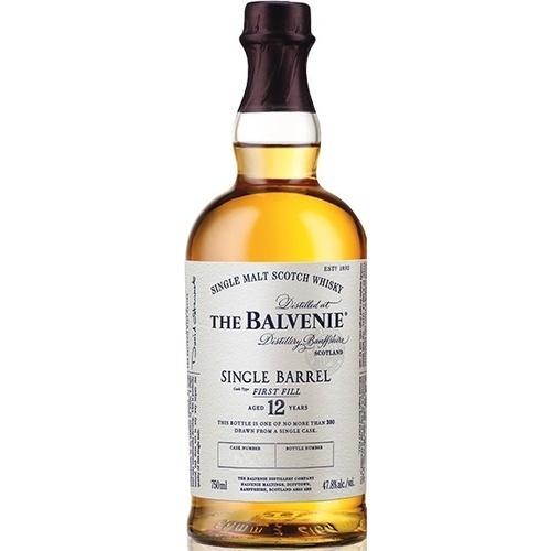 The Balvenie Distillery Whisky Balvenie, Single Barrel, 12y, 47.8%, 70cl
