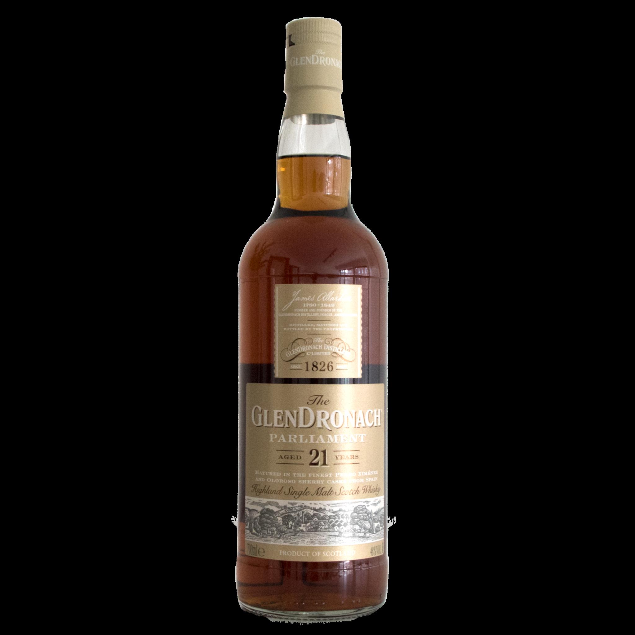 Glendronach Distillery Glendronach 21y, Parliament, 48%, 70cl