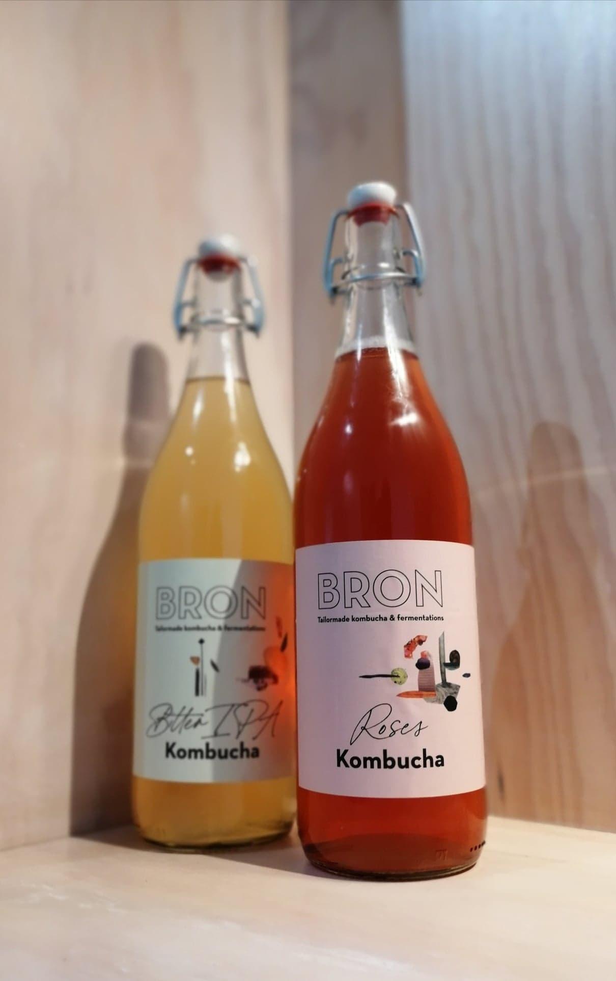 Kombucha - Bron van smaak