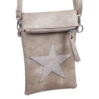 thumb-Flip top star bag / schoudertas / Bruin-1