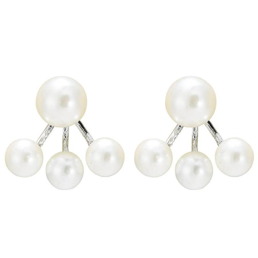 Oorbellen Pearl Double - Ivoor-1