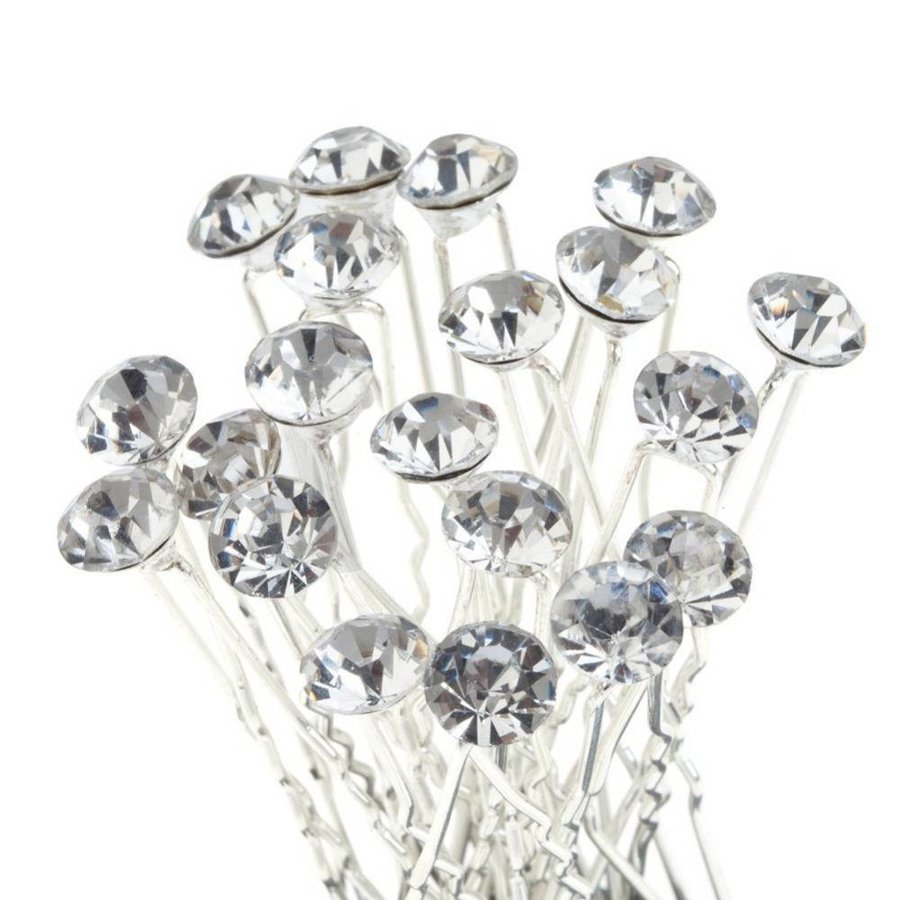 Hairpins – Fonkelende Kristal - 6 stuks-1