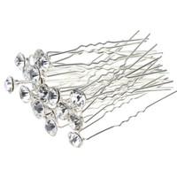 thumb-Hairpins – Fonkelende Kristal - 6 stuks-3
