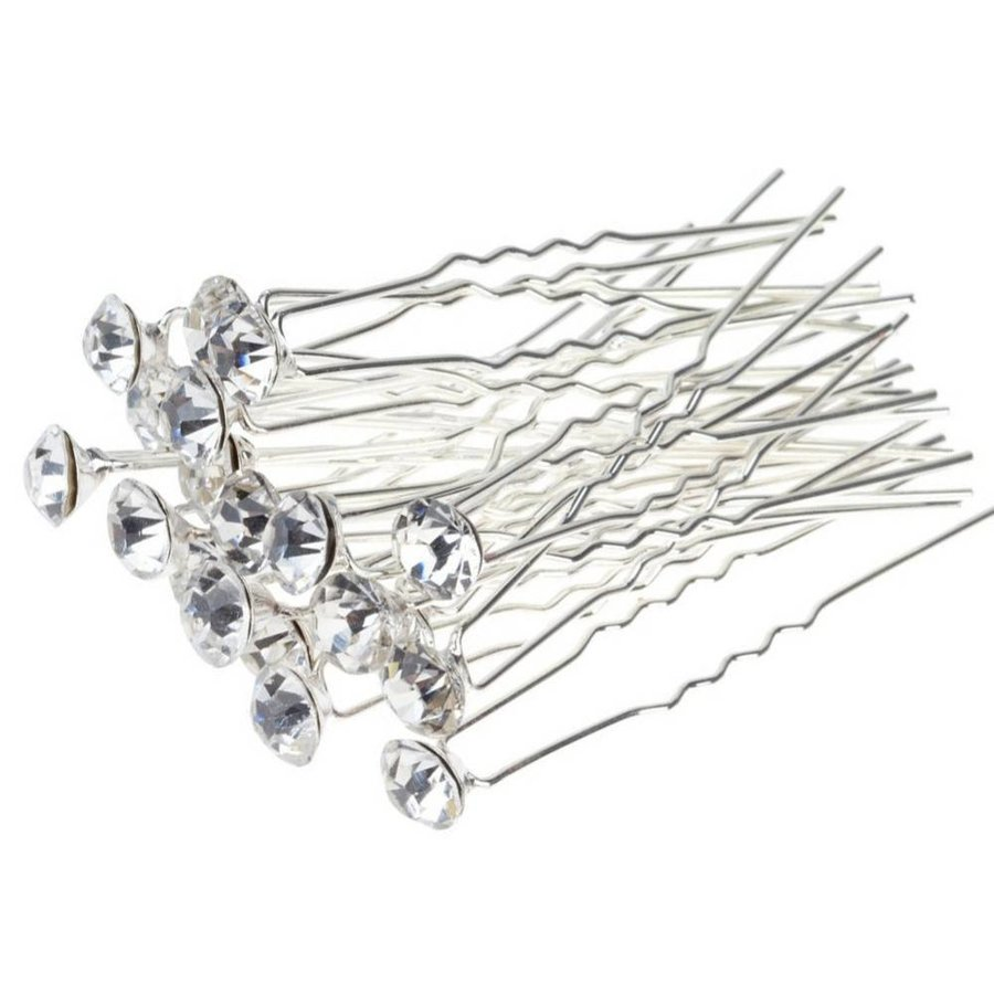 Hairpins – Fonkelende Kristal - 6 stuks-3