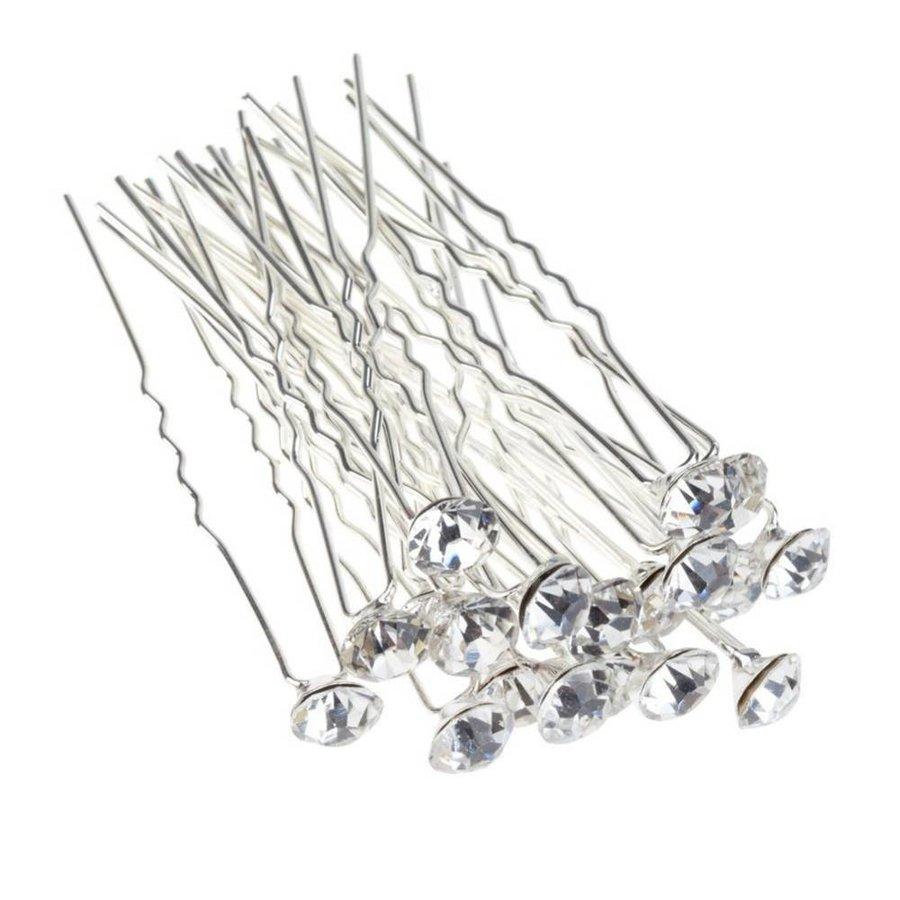 Hairpins – Fonkelende Kristal - 6 stuks-4