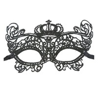 thumb-PaCaZa - SALE - Party Masker - Zwart - 008-1