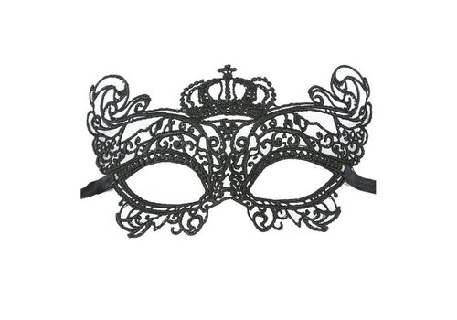 SALE - Party Masker - Zwart - 008
