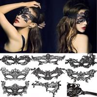 thumb-PaCaZa - SALE - Party Masker - Zwart - 008-2