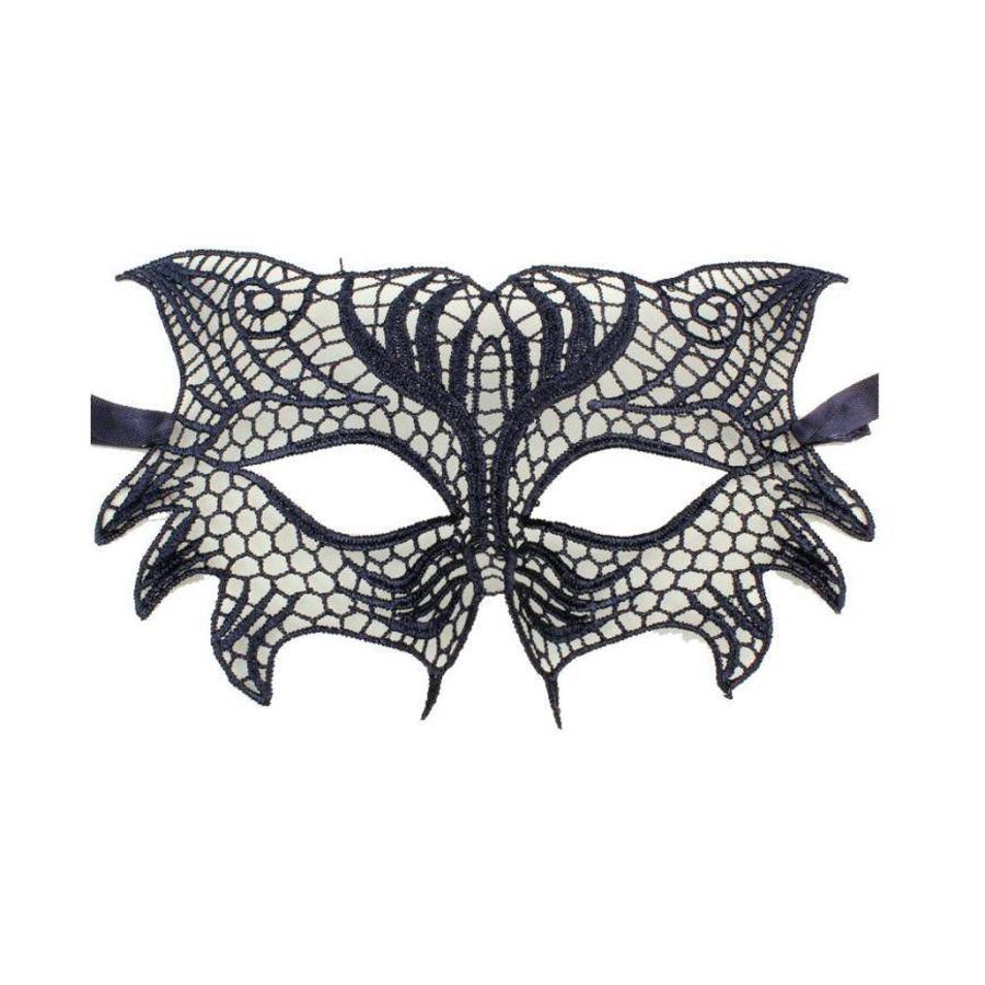 SALE - Party Masker - Zwart - 0010-1