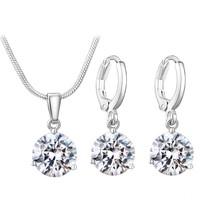 thumb-Sieradenset Diamond (Ketting & Oorbellen)-1