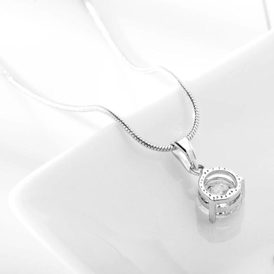 PaCaZa - Sieradenset Diamond (Ketting & Oorbellen)-7
