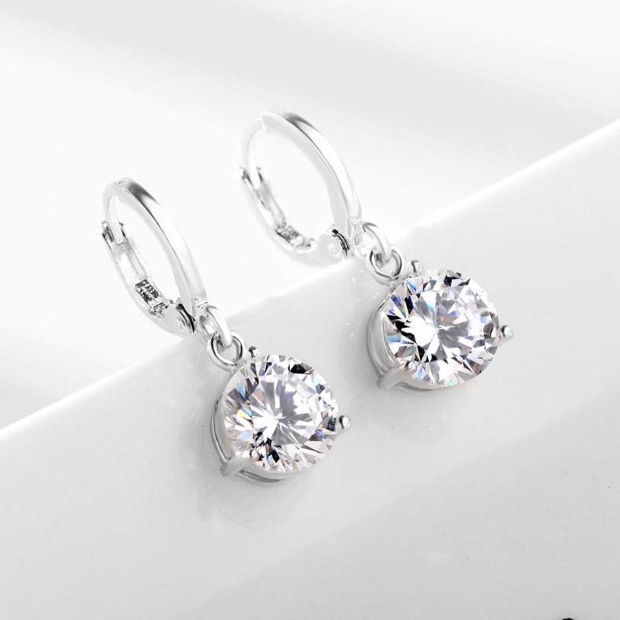 Sieradenset Diamond (Ketting & Oorbellen)-4