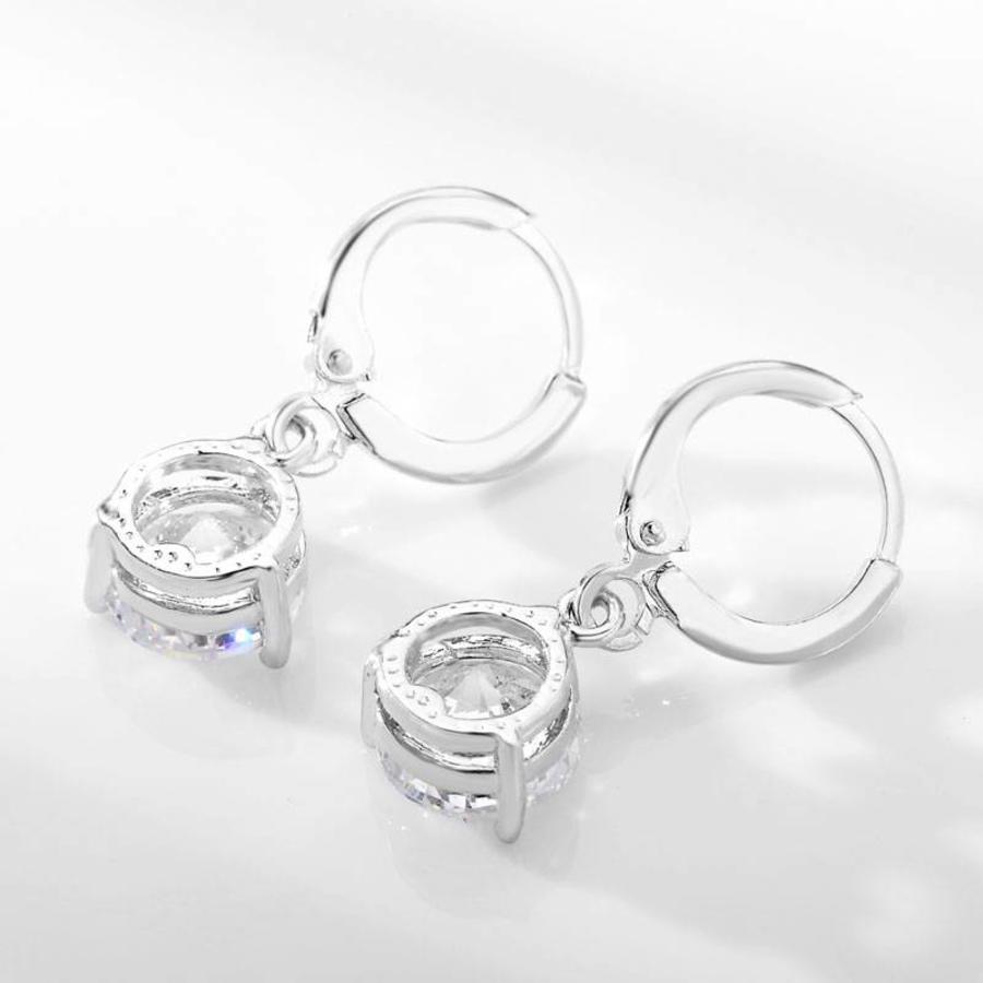 PaCaZa - Sieradenset Diamond (Ketting & Oorbellen)-6