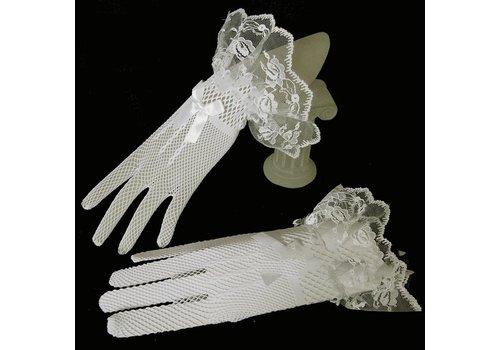 Geweldige Bruidshandschoenen - Wit