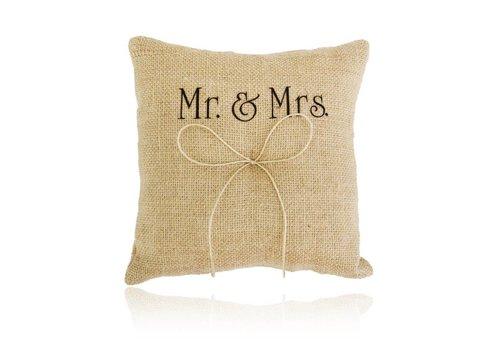 Jute Ringkussen Groot  Mr. & Mrs.