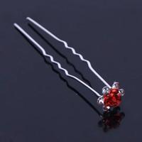 thumb-Hairpins – Rood Roosje - 5 stuks-4