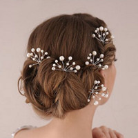 thumb-Hairpins – Ivoorkleurige Parels - 2 stuks-2