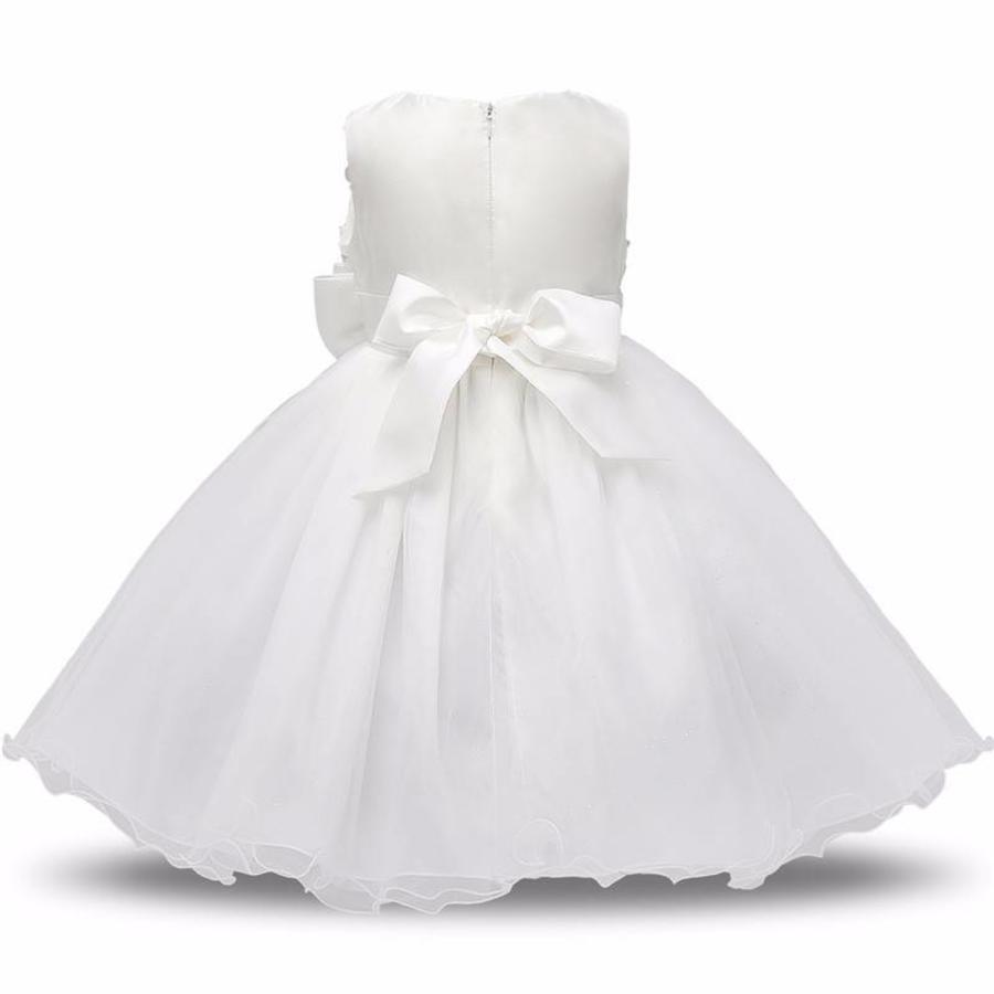 Communiejurk / Bruidsmeisjesjurk - Gia - Wit / Off White - Maat 104/110-2
