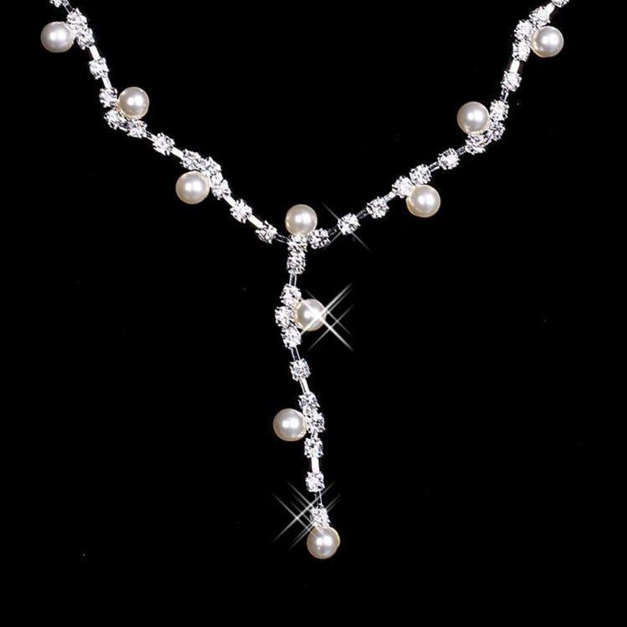 Sieradenset Pearl (Ketting & Oorbellen)-2
