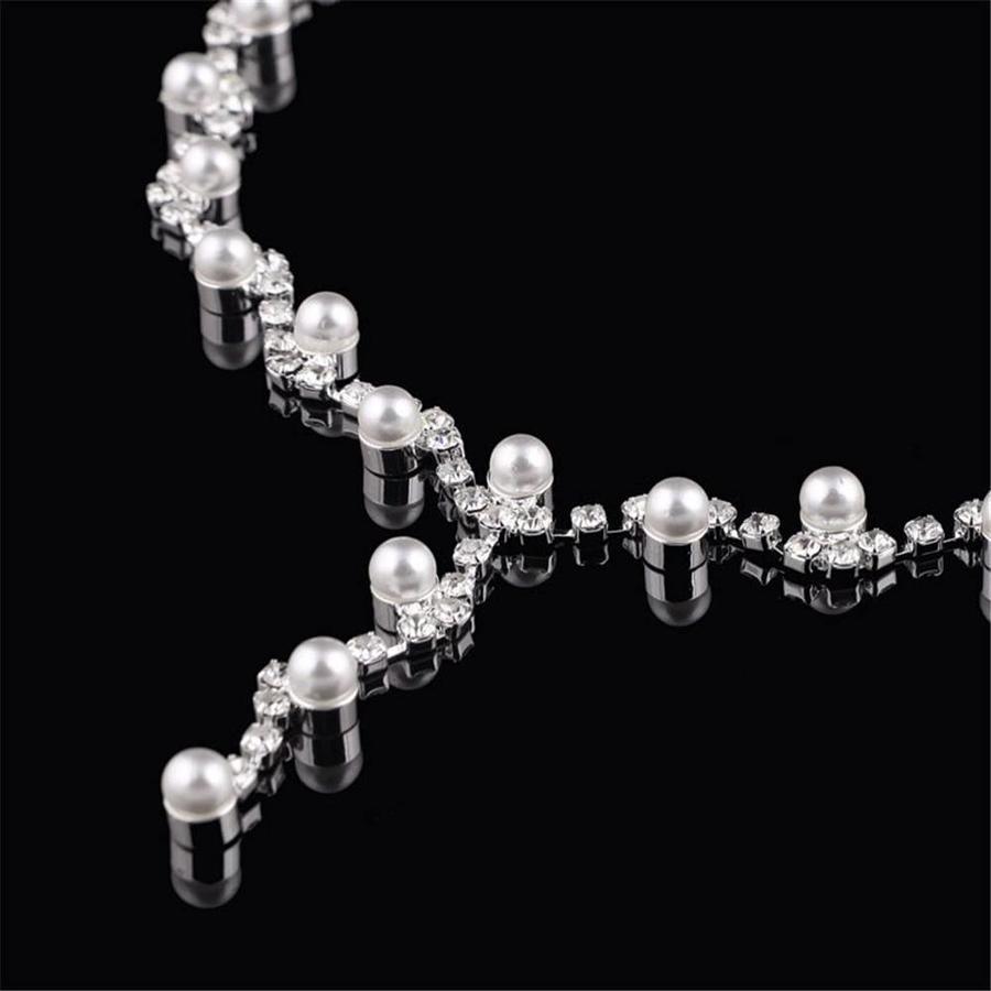Sieradenset Pearl (Ketting & Oorbellen)-3