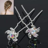 thumb-PaCaZa - Hairpins - Flower - 4 stuks-1