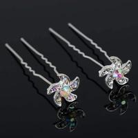 thumb-PaCaZa - Hairpins - Flower - 4 stuks-2