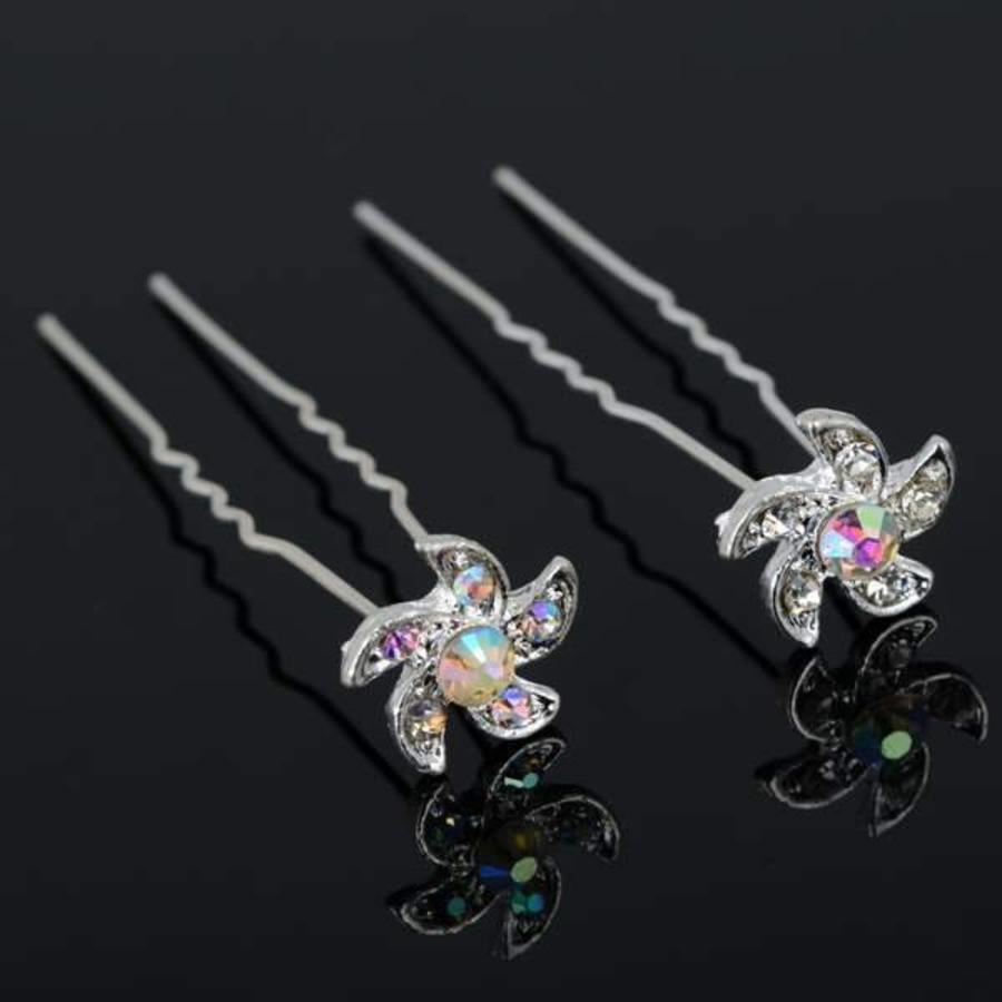 PaCaZa - Hairpins - Flower - 4 stuks-2