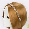 PaCaZa Elegant Haar Sieraad met Fonkelende Sterren en Bloemen