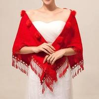 thumb-Prachtige Rode Sjaal-1