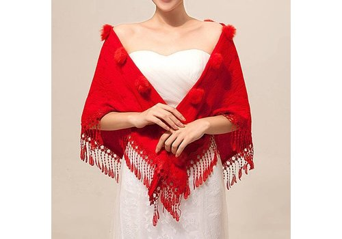 Prachtige Rode Sjaal