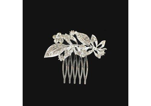 Fonkelende Haarkam bezaaid met Diamantjes